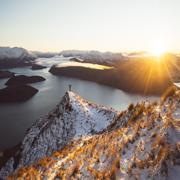 Озеро Уанака, Новая Зеландия   мир   путешествия   новая зеландия