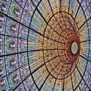 Art Nouveau Stained Glass   art nouveau   stained glass   beauty