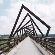 Мост High Trestle, штат Айова | bridge | usa | travel