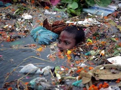Загрязнение рек, морей и океанов
