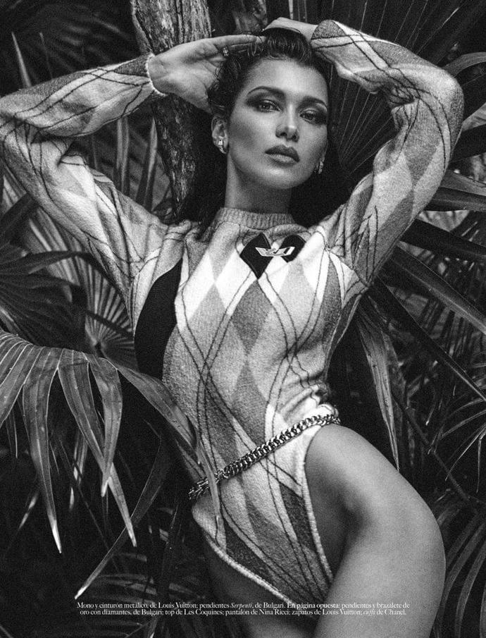 Bella Hadid by Chris Colls for Vogue Mexico, July 2018 | photoshoot | magazine | vogue