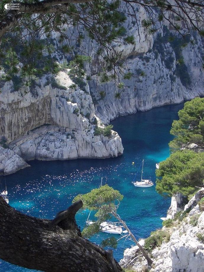 Бухта En-Вау на острове Корсика, Франция | мир | путешествия | франция