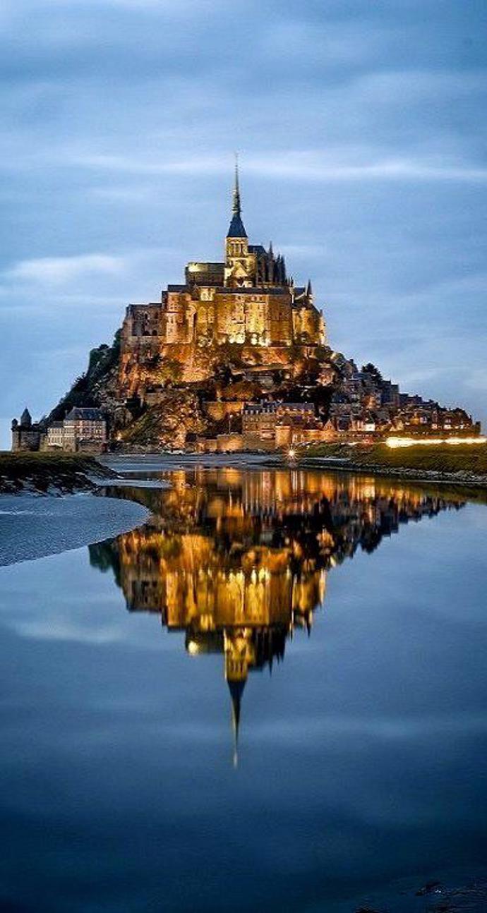 Mont Saint-Michel, Normandy, France | world | travel | mont saint-michel