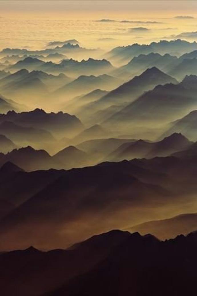 Рассвет в горах | world | travel | mountains