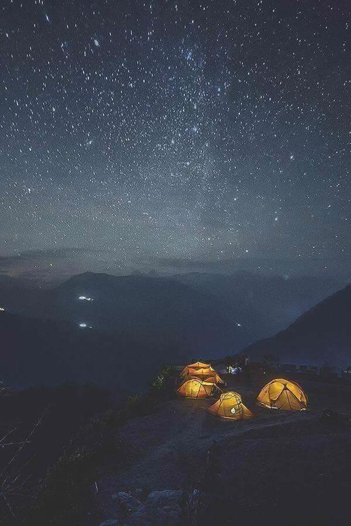   mountains   adventure   tent