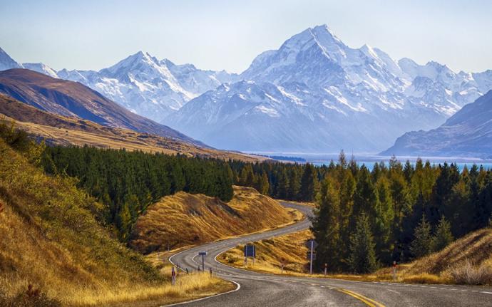   mountains   new zealand   природа
