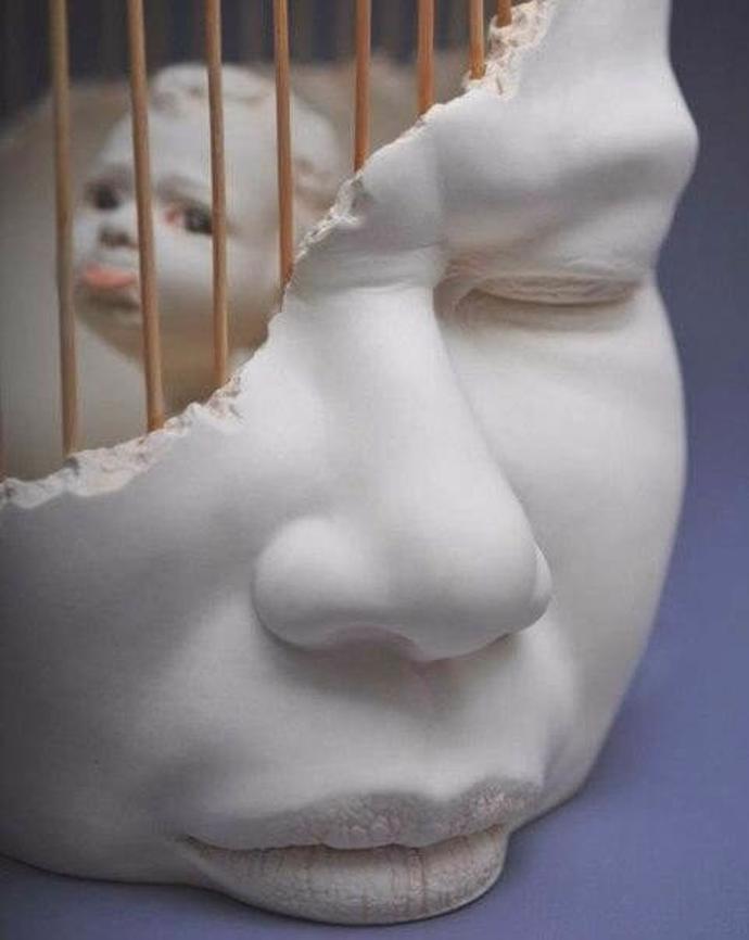 """Johnson Tsang / """"In Me""""   art   sculptor   sculptures"""