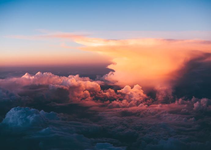 Небо над Парижем | небо | полёт | париж