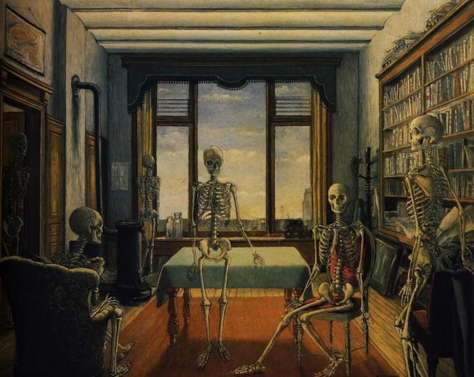 Artist / Paul Delvaux | art | artist | paintings