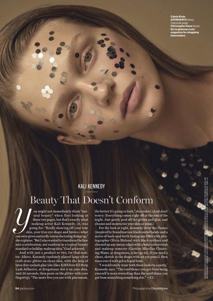 Marthe Wiggers & Natalie Ogg for Glamour | photoshoot | magazine | glamour