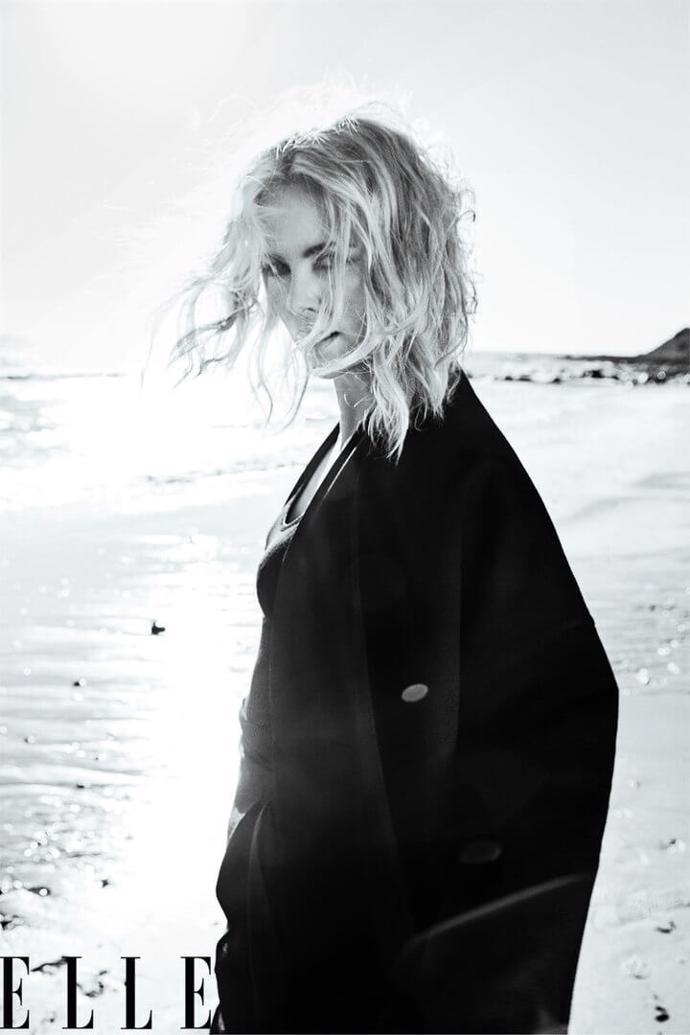 Charlize Theron for Elle, May 2018   photoshoot   magazine   elle