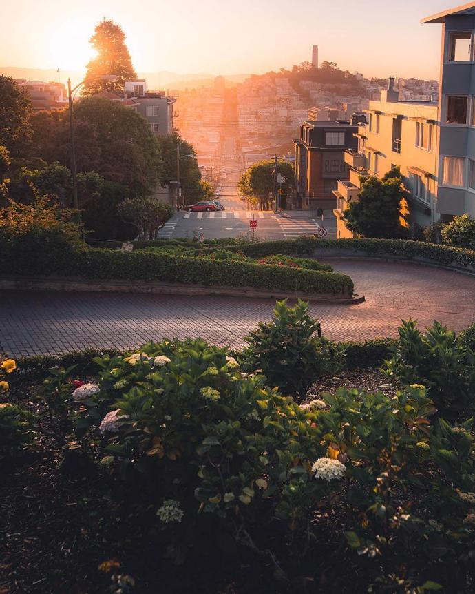 Lombard Street, San Francisco | world | travel | san francisco
