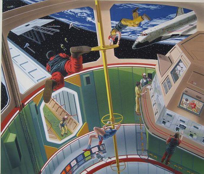 Retro futurism | retro future | retro art | futurism