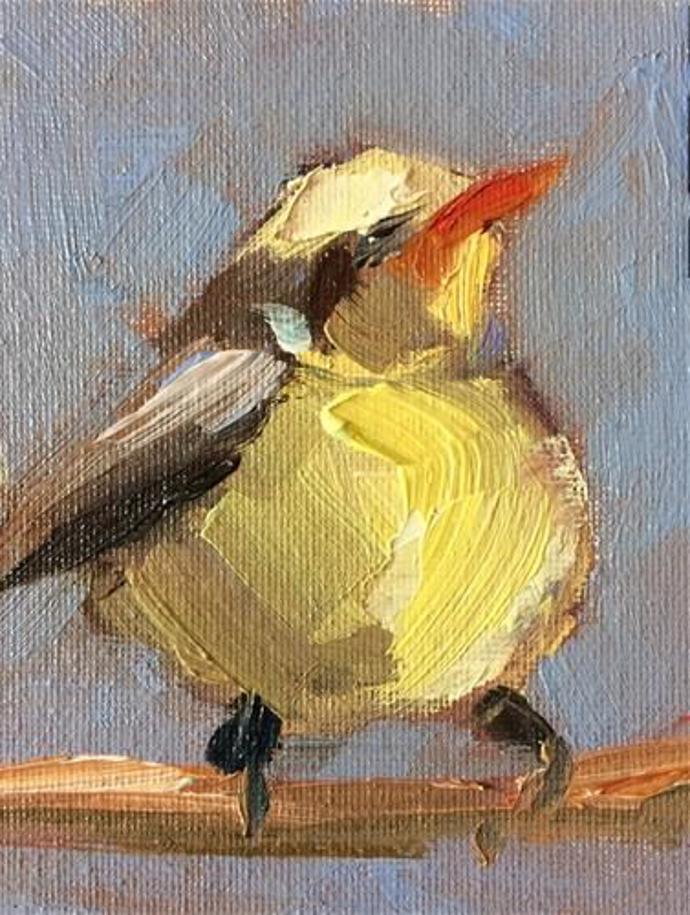 """Small Yellow Bird"" | Naomi Bautista | art | artist | naomi bautista"