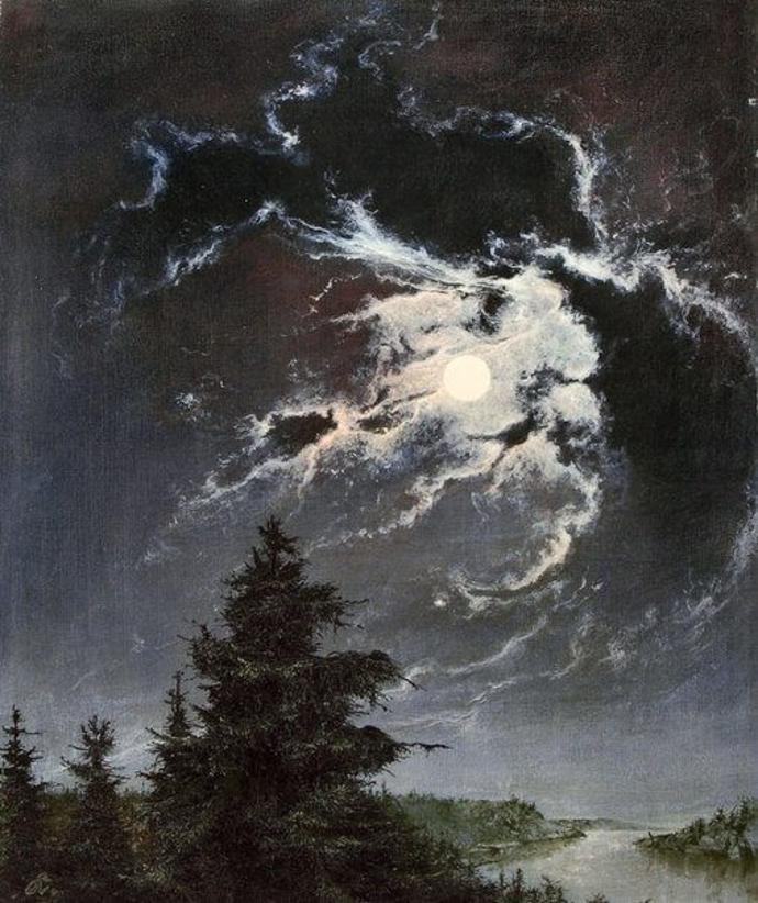 "Willy Kriegel I ""Ночь"", 1943   art   willy kriegel   night"