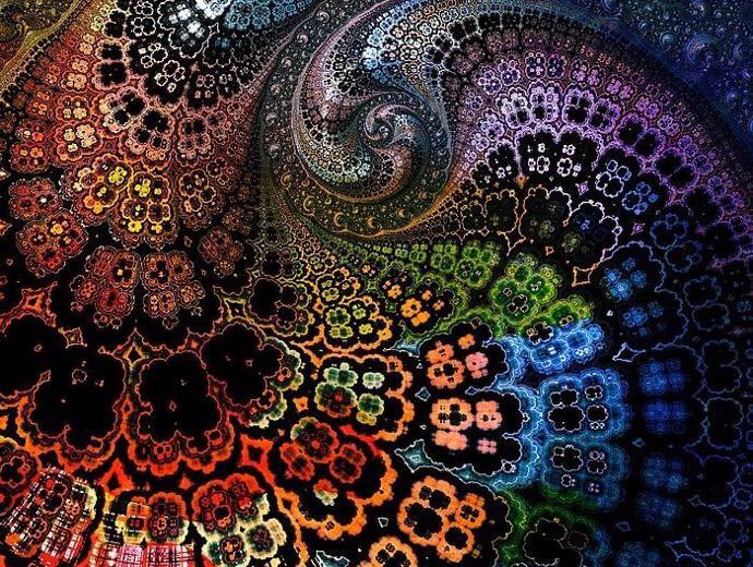 | fractal | mandelbrot fractals | psychedelic