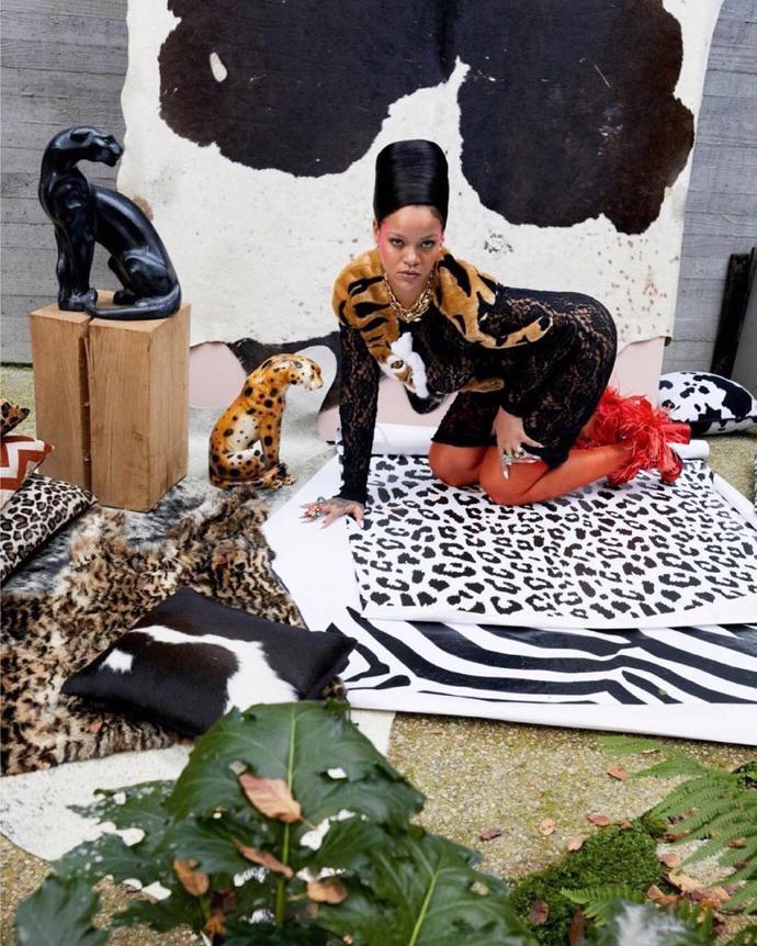 Rihanna for Vogue Paris | photoshoot | magazine | vogue