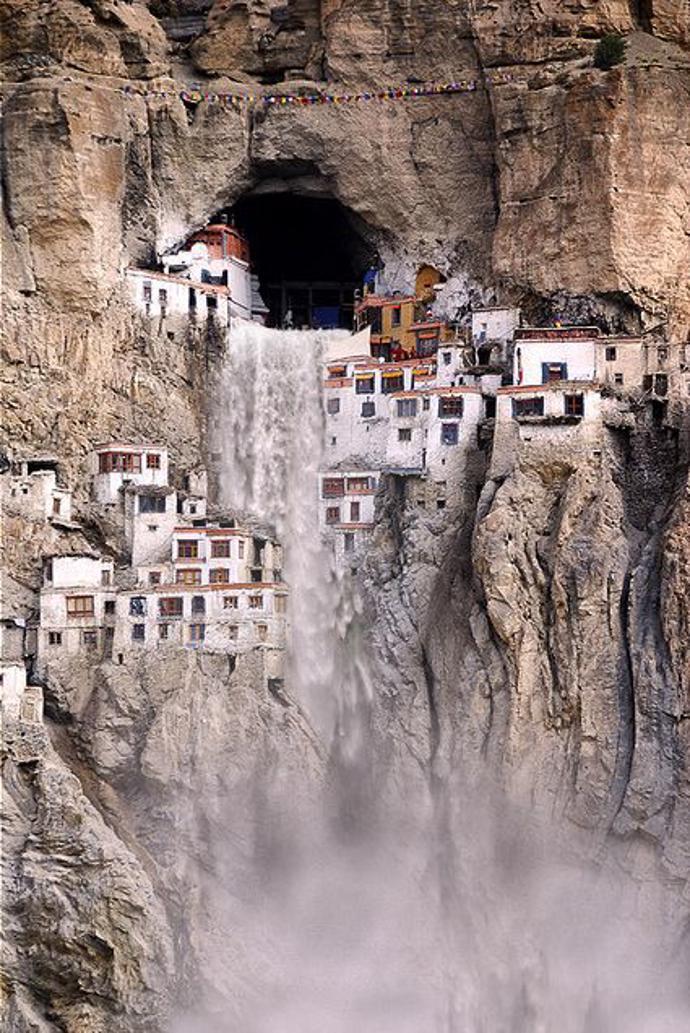 Phuktal Monastery in Ladakh, India, | world | travel | india