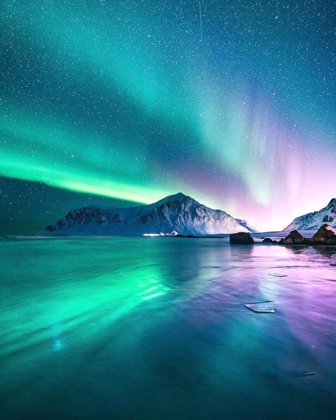 Northern lights   world   travel   northern lights