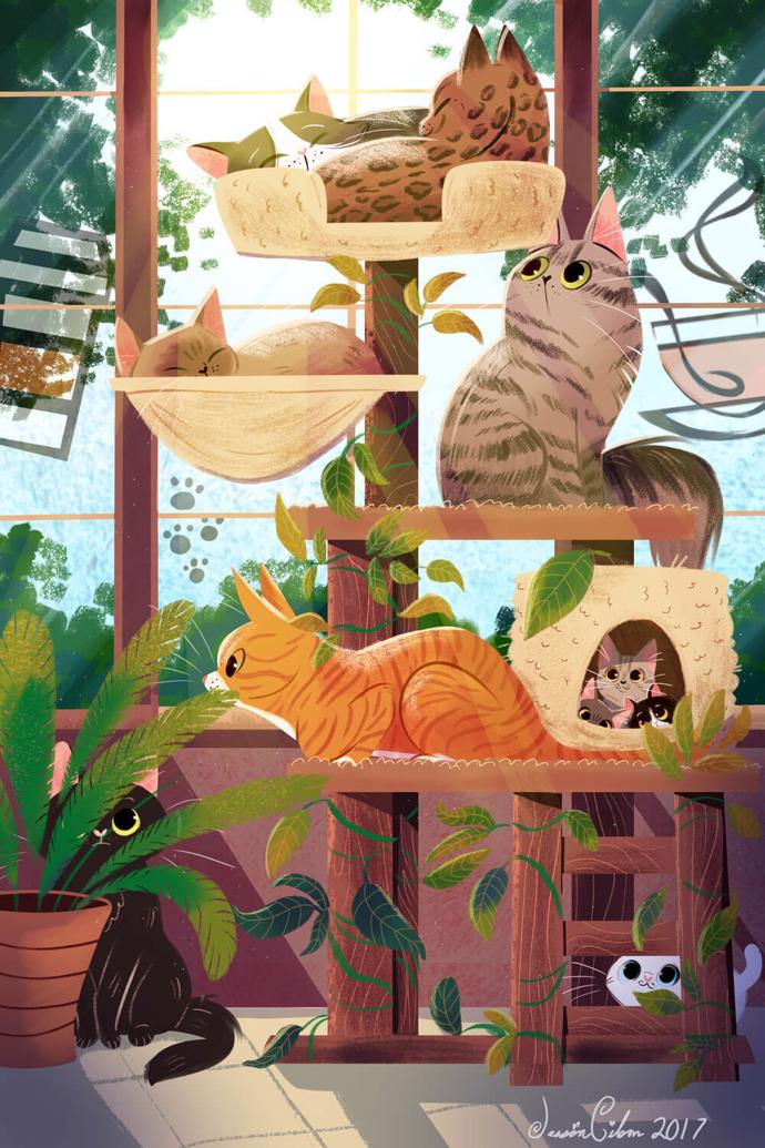 by  Jessica Gibson   childrens illustration   art   art project