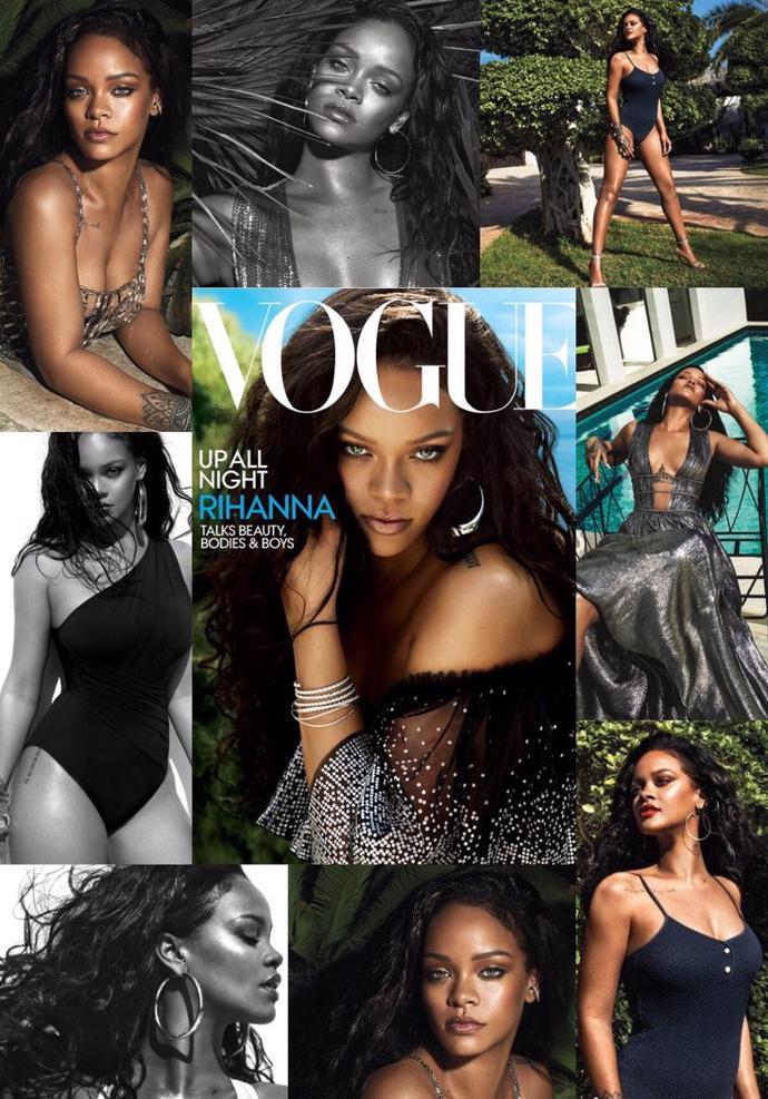 Rihanna for Vogue | photos | magazine | vogue