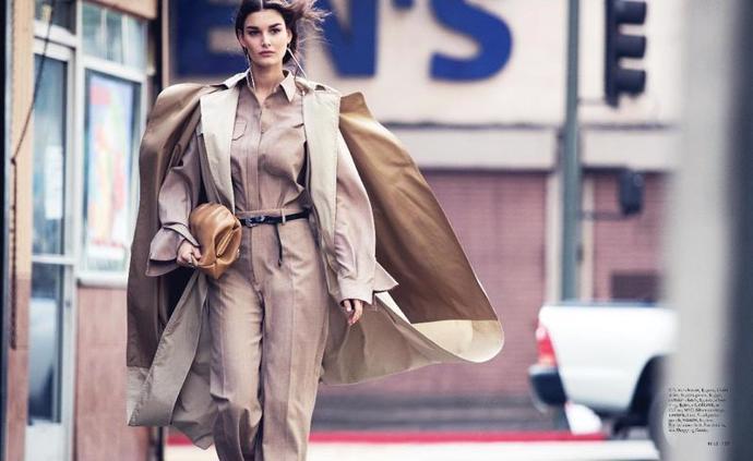 Ophelie Guillermand for Elle US   photoshoot   magazine   ellen rosa