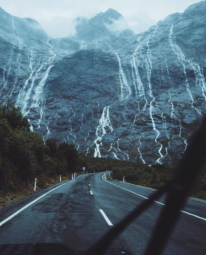 Фьордленд, Новая Зеландия   мир   путешествия   новая зеландия