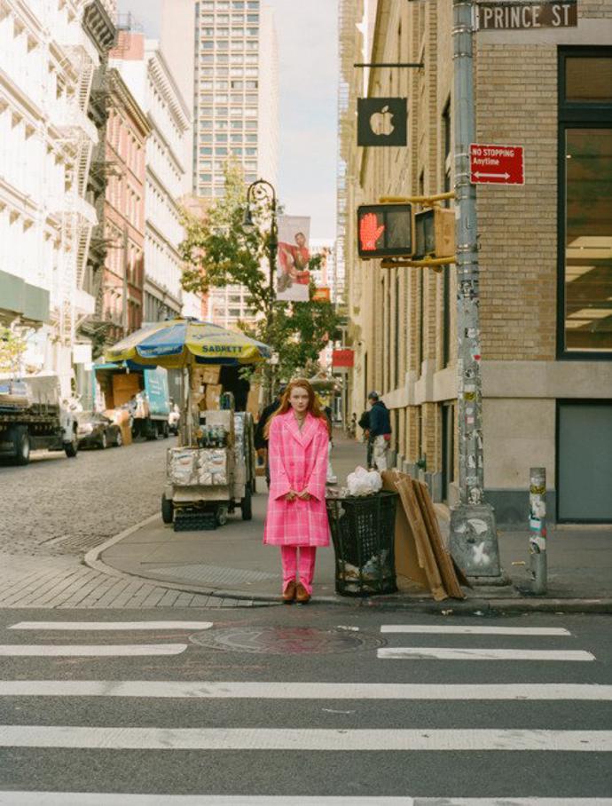 Sadie Sink for INTERVIEW | photoshoot | magazine | interview