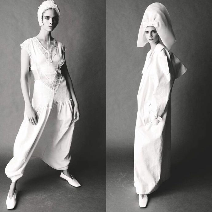 Cara Delevingne for Vogue UK // 2018 | photoshoot | magazine | vogue