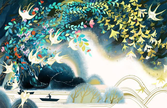 by Kuri Huang   art project   digital art   illustrations
